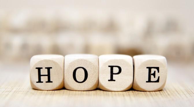 Faith, Hope, & Love, Part II: Hope